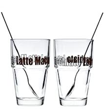 Solo Glas Latte Macchiato 4 delar