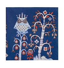 Taika Papppersservett 33x33 cm Blå 20-pack