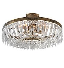 Hovdala Loftslampe Antik 48 cm