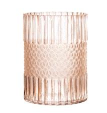 Vas Glass Rose Ø15 cm