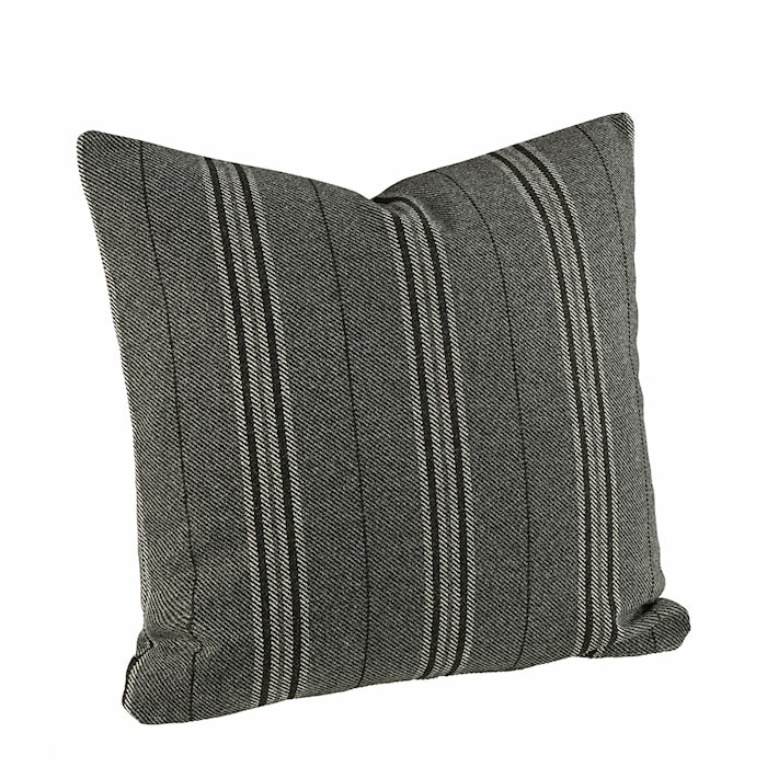 Weasly Stripe Kuddfodral 60x60 Black