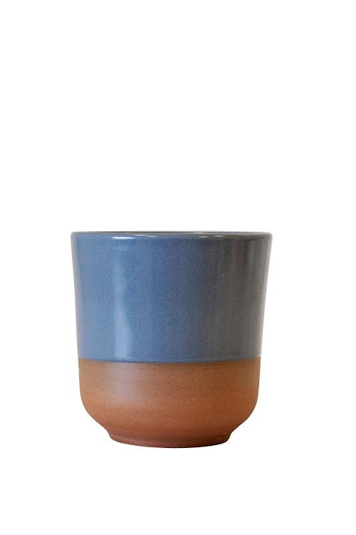 Krus keramik grå