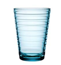 Aino Aalto glass 33 cl lyseblå 2-pakk