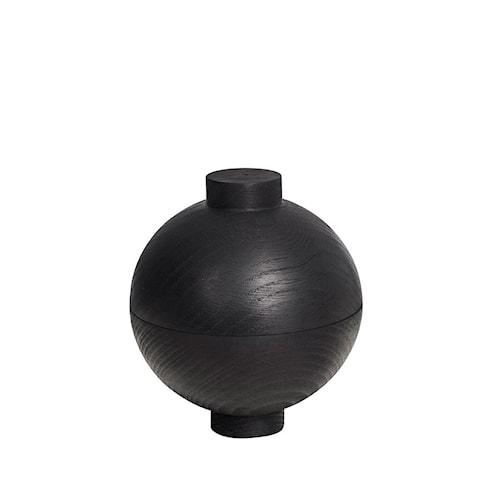 Wooden sphere - svart