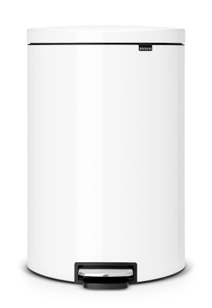 Flatback + poljinroskis Valkoinen 40 L