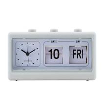 Retro klocka - grå