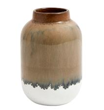 Vase Nature 13 cm - Brun