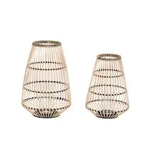 Lanterna 2st - Natur/Svart